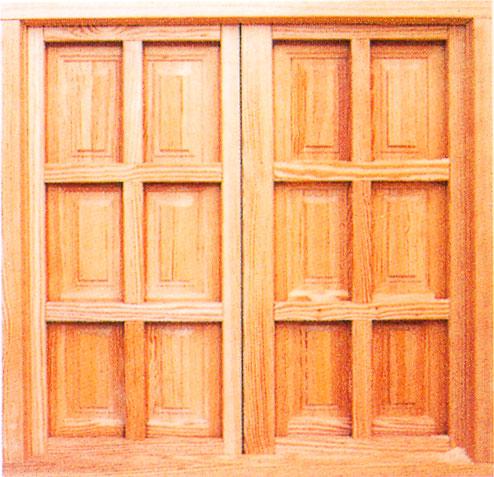 Ventana de madera imagui for Ventanas en madera