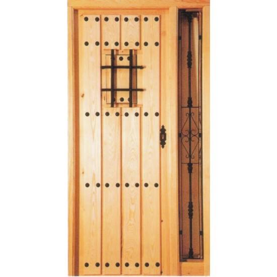 Puertas de calle con rejas for Puertas de calle rusticas