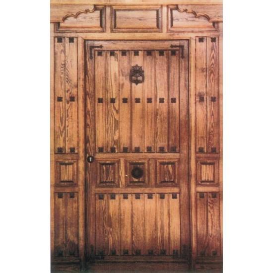 puertas de calle r sticas con clavos On puertas de calle rusticas