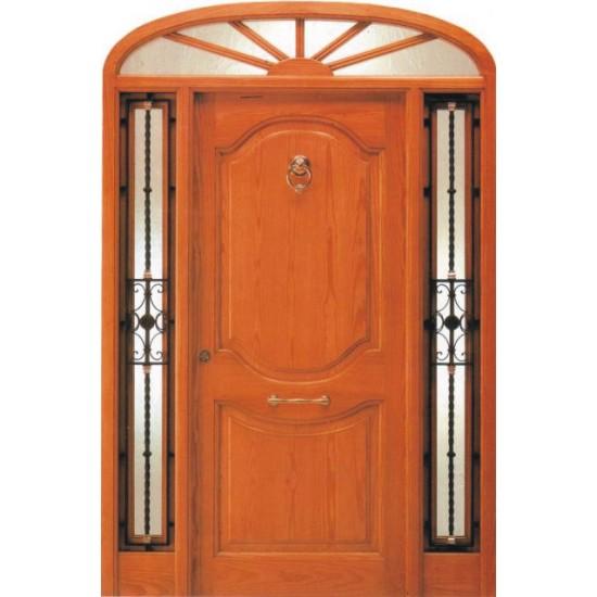 Puertas cl sicas de entrada - Como hacer puertas de armario ...