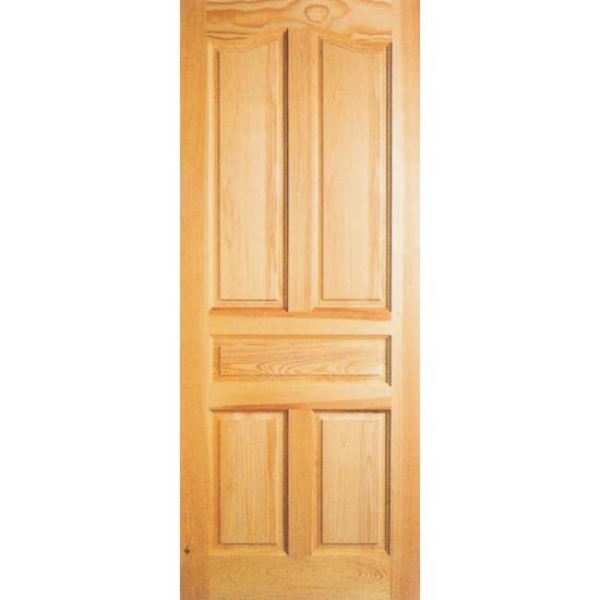 Hojas de puerta cl sica de madera for Puertas madera rusticas interior