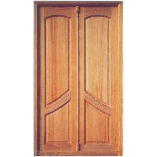 Puertas exteriores de pino for Puertas dobles para exterior