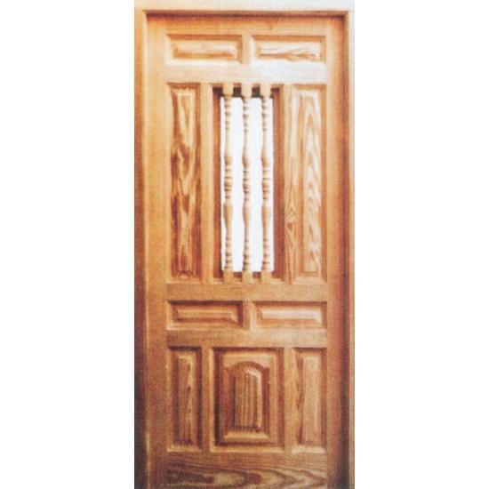 puertas de entrada r sticas en madera de pino