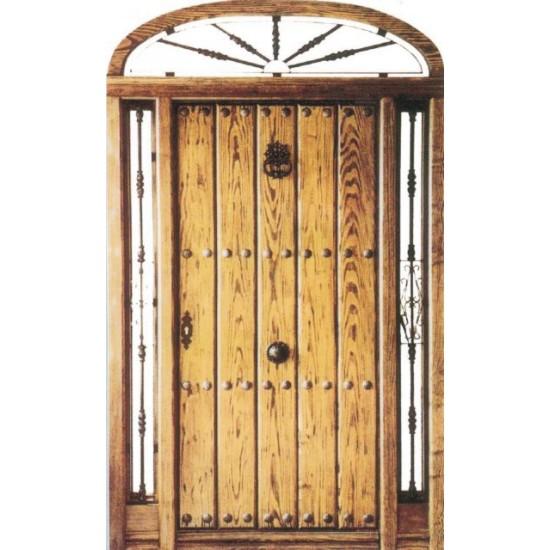 Puertas de exterior con rejas for Rejas de madera