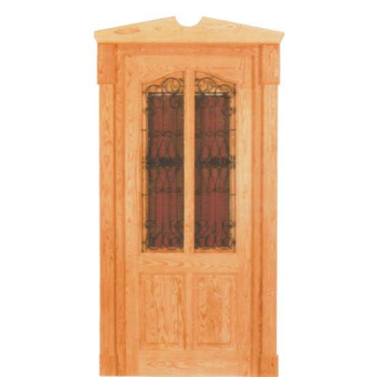 Puertas exteriores de madera for Puertas madera exterior precios