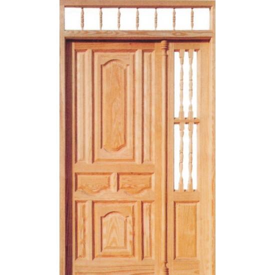 Puertas de madera rusticas exterior dise os for Puerta de madera exterior usada