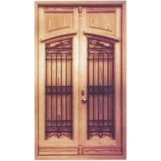 Puertas exteriores valencianas de madera - Puertas rusticas de exterior ...