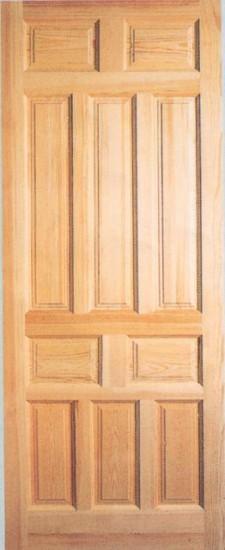 Ladrillos prefabricados fontaner a y carpinter a para for Puerta castellana pino