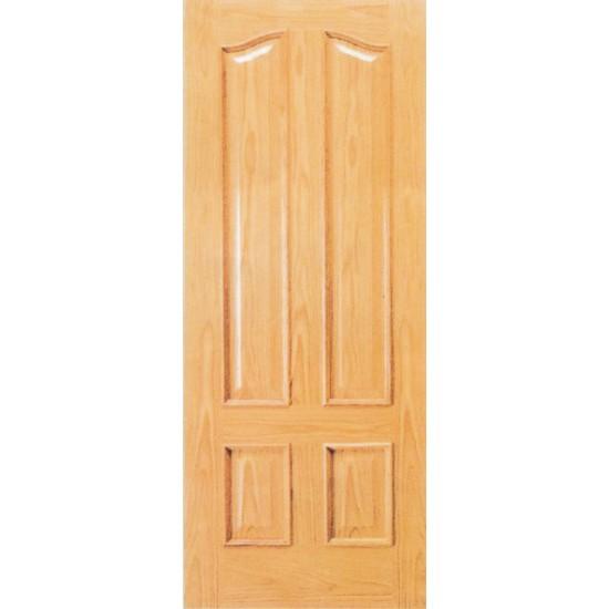 Hojas de puertas interiores de madera for Puertas en madera para interiores