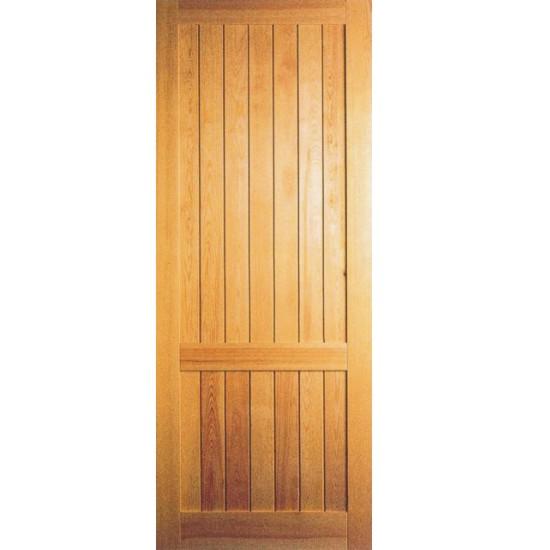 hojas de puerta con listones verticales
