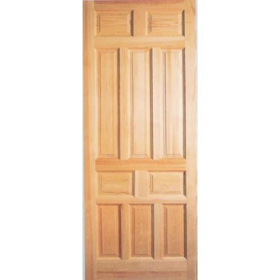 Puertas montadas sobre marco for Puertas madera rusticas interior