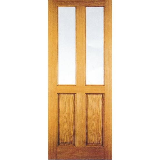Hojas de puerta de pino para cristal for Puertas madera rusticas interior