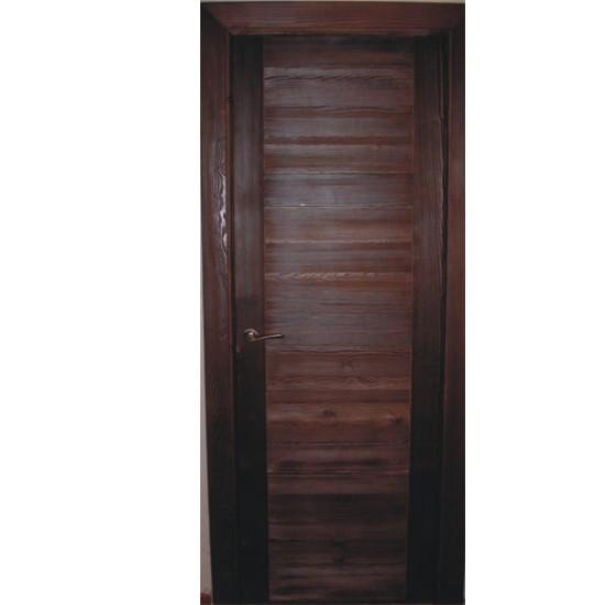 Hojas de puerta oscuras for Puertas interiores rusticas