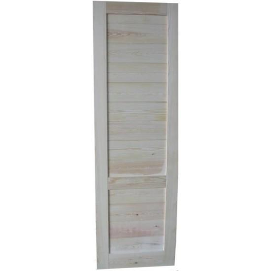 hoja de puerta de madera con tableros para interior