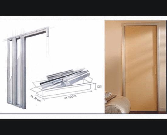 Estructura universal corredera para cartonyeso - Estructuras para puertas correderas ...