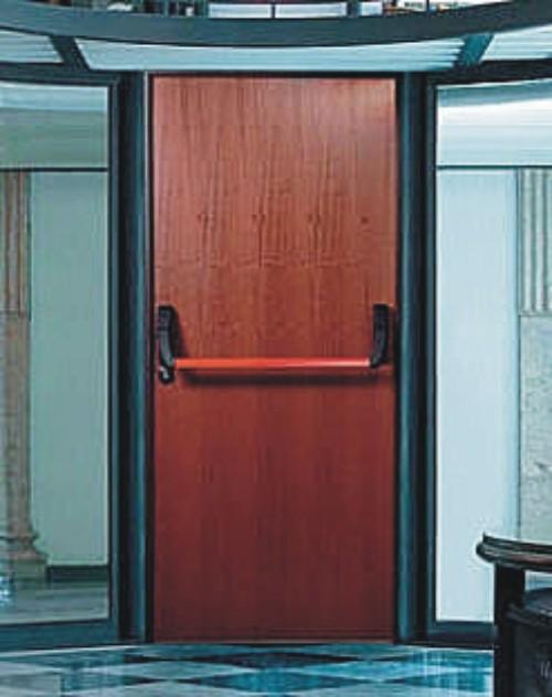 Aperturas antip nico para puertas cortafuego - Puertas metalicas roper ...