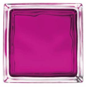 Bloques de paves color rubi brillante basic - Paves vidrio ...