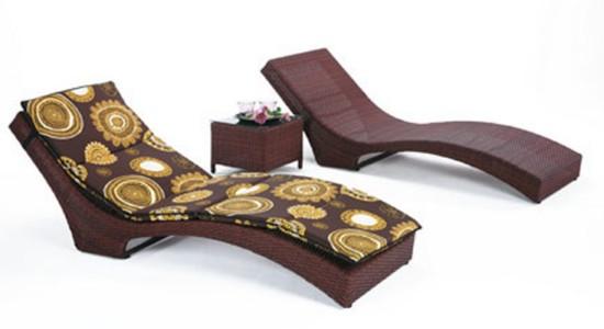 Hamacas de fibra para disfrutar del relax al aire libre for Tumbonas de jardin