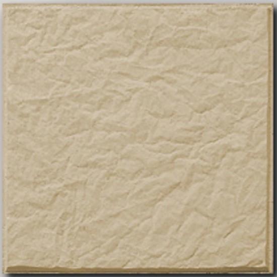 Baldosa con textura rugosa en color beige de exterior - Pavimentos exteriores antideslizantes ...