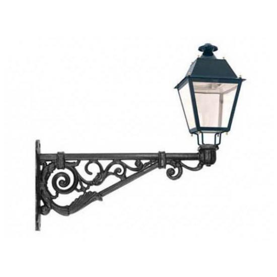 Repisa para fijacion de luminaria a pared o columna en - Farolas galvanizadas ...