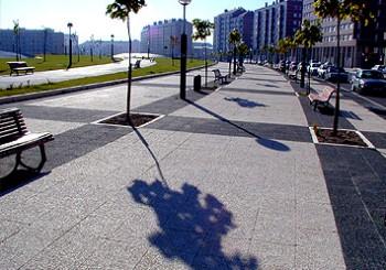 Terrazos de ridos lavados triturados blancos para suelos - Pavimentos para aceras ...