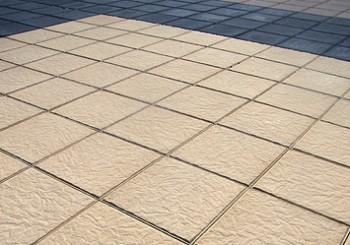 Placa de piedra con textura rugosa para pavimentaci n de for Terrazo exterior 40x40