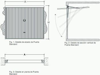 Ladrillos prefabricados fontaner a y carpinter a para for Puerta garaje basculante precio