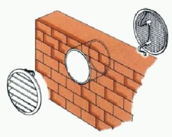 Rejillas redondas de ventilaci n con malla - Rejillas de ventilacion ...