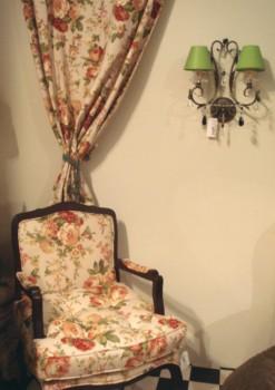 Telas de tapizado con flores - Tapizar butaca precio ...