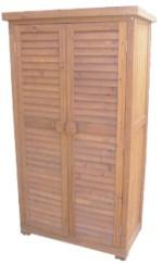 Ladrillos prefabricados fontaner a y carpinter a para for Armario herramientas jardin