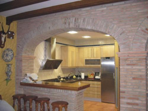 Ampliar imagen - Ver cocinas rusticas de obra ...