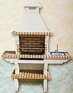 Ladrillos prefabricados fontaner a y carpinter a para - Barbacoa prefabricada precio ...